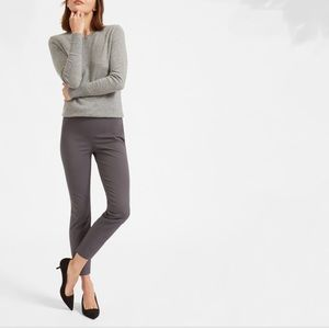 Everlane Side Zip Work Pants Gray